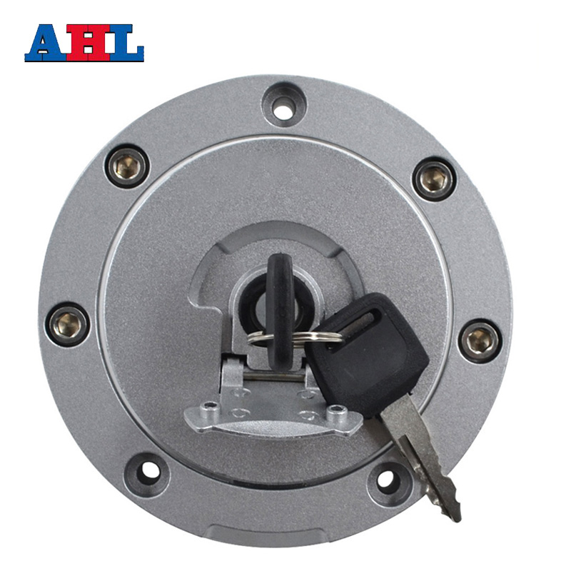Motorcycle Fuel Gas Tank Cap Cover Lock + 2pcs Keys For Honda VFR 750 800 VFR750 VFR800 , Not Includ Ignition Seat Handle Locks