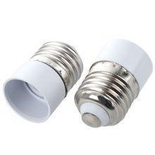 10 E27 Male Plug to E14 Female Socket Base LED Light Lamp Bulb Adapter Converter
