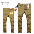 Superably Brand new mens fashion casual pants sanded Male business casual trousers stretch comfort Slim pants big yards Men U219