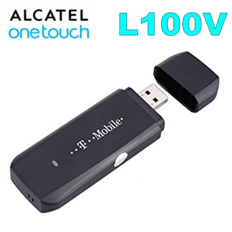 Unlocked Alcatel L100v 3G 4G 100Mbps FDD LTE USB Dongle ModemUnlocked Alcatel L100v 3G 4G 100Mbps FDD LTE USB Dongle Modem