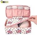 Fashion Portable Multi Functional Travel Organizer Storage Bag Panties Bra Underwear Underpants Storage Box Cosmetic Make-up Bag