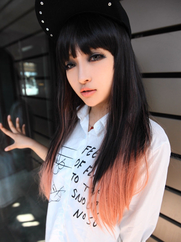 Fantastic Online Get Cheap Dyed Hairstyles Aliexpress Com Alibaba Group Hairstyle Inspiration Daily Dogsangcom