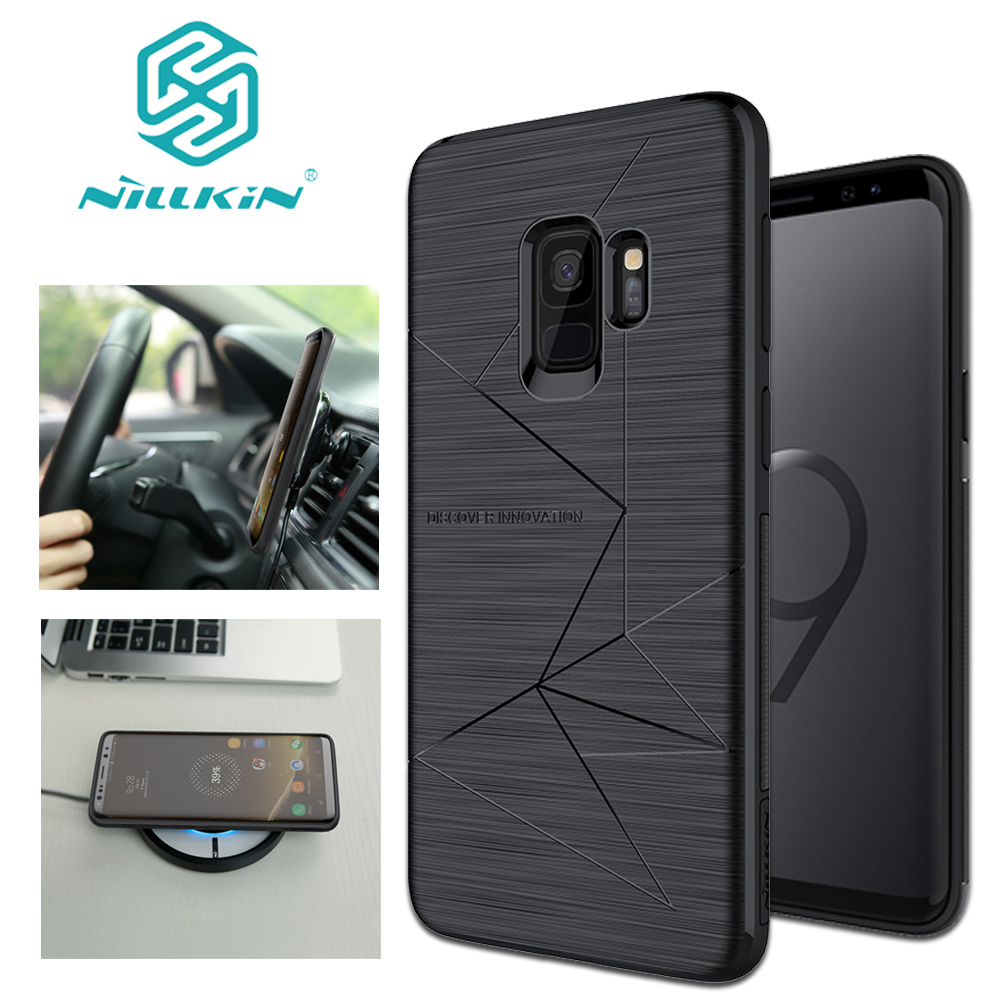 Nilkin for Samsung Galaxy S10 S9 S8 Plus Case Nillkin Magic Magnetic Silicone Soft TPU Cover for Samsung S10 S9 S8 Note 8 Case
