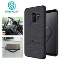 Nillkin para Samsung Galaxy S10 S9 S8 caso Nillkin Magic magnético suave de silicona TPU para Samsung S10 S9 s8 Note 8