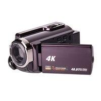 """Cewaal 4 k zoom digital capacitivo touch display dvr câmera de vídeo fotografia câmera premium gravador dv filmadora Câmeras """"point-and-shoot""""     -"""