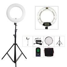 Yidoblo fe-480ii biały photo studio led lampa pierścieniowa lampa + torba + zestaw statyw lampy rc fotograficzne oświetlenie 5500 k 480led światła