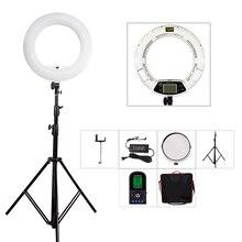 Yidoblo fe-480ii weiß fotostudio led-ringlicht lampe + tasche + stativ set lampe rc fotolampen 5500 karat 480led lichter