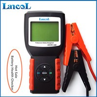 Lancol MICRO-468 12V Automotive/ Car Battery Tester Car Battery Tester Diagnostic Tool 100-2000 CCA Battery Tester Analyzer digital car battery load tester with printer micro 300 2000cca 200ah 12v car diagnostic tool battery capacity checker