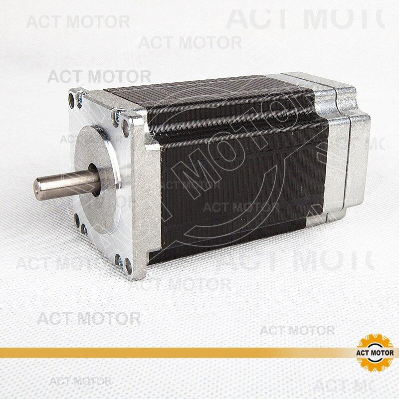 цена на ACT Motor 1PC Nema23 Brushless DC Motor 57BLF03 24V 188W 3000RPM 3Phase Single Shaft CNC Router US CA DE UK IT FR BE JP Free
