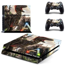 ARK: Survival Evolvedl Whole Body Vinyl Skin Sticker Decal Cover for PS4 Playstation 4 Console and 2 controller