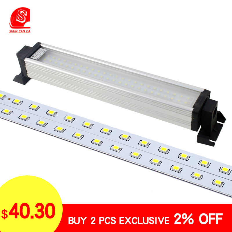 Led Cnc Machine Work Lights 220V 8W-40W Explosion Proof Waterproof Lamps Garage Lathe Milling Sewing Industrial Led Lighting 24V