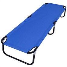 Outdoor Office Folding Bed Recliner Chairs Sun Lounger 189x56x30cm OP2617