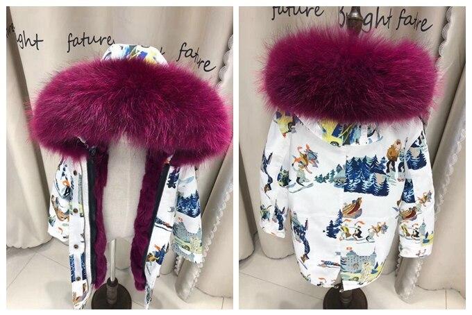 child winter real fur parkas coat (32)