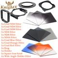 KnightX nd lens color Filter Set Cokin P FOR Nikon canon t5i D3200 D3100 700d D3300 D5300 1100D 49 52 55 58 62 67 72 77 82 mm