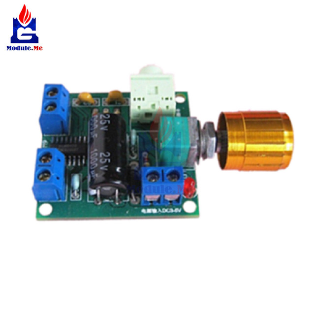 Dual Double 6W + 6W PAM8406 Audio Stereo Amp Amplifier Board Digital Class D amp2 amp 2 Canal  Lithium Battery Module