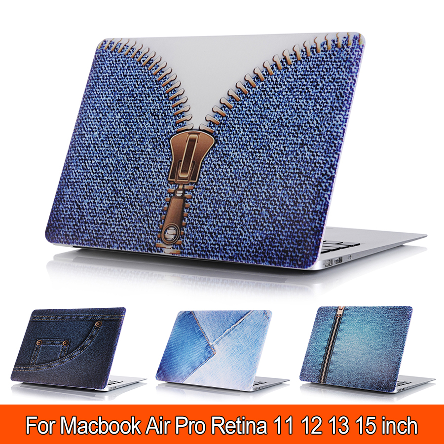 Cowboy Case for MacBook Air 11 13 Luxury Printed Colors Pattern Air 11 Laptop Cover for Macbook Pro Retina 12 13 15 Case
