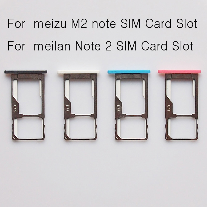 Replacement phone small parts accessories For <font><b>meizu</b></font> <font><b>m2</b></font> <font><b>note</b></font> meilan note2 <font><b>note</b></font> 2 <font><b>SIM</b></font> Card <font><b>Tray</b></font> Holder Micro SD Card Slot Adapter image