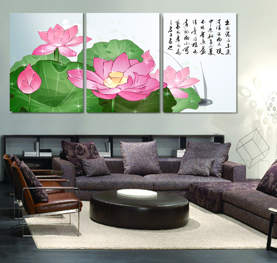 Hot sale chinese calligraphy canvas art modern wall for Modern wall art for sale