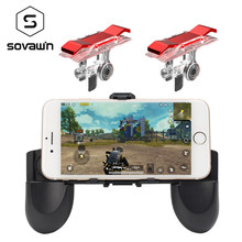 Gamepad Controller PUBG mobile Phone game pad joystick trigger for pubg gaming Control shooter fire button for Iphone Android(China)