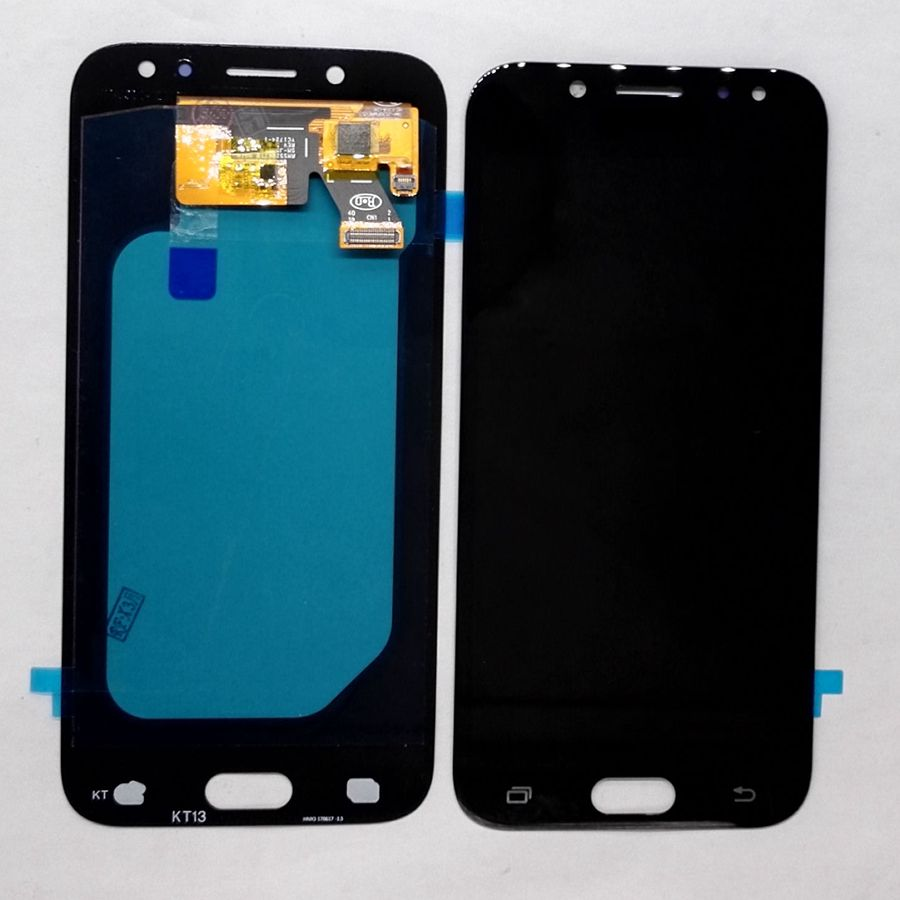 Amoled Pour Samsung Galaxy J5 2017 J530 SM-j530F J530M J530fn/ds Amoled LCD Avec tactile en verre ensemble Complet pour réparation affichage