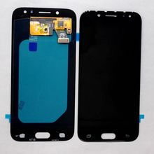 Amoled do Samsung Galaxy J5 2017 J530 SM-j530F J530M J530fn ds Amoled wyświetlacz LCD z dotykiem szkło pełny zestaw dla do naprawy wyświetlacz tanie tanio For J530 1280x720 Pojemnościowy ekran 5 2 White Black Blue
