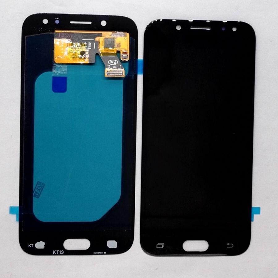 Amoled pour Samsung Galaxy J5 2017 J530 SM-j530F J530M J530fn/ds Amoled LCD avec verre tactile ensemble complet pour l'affichage de réparation