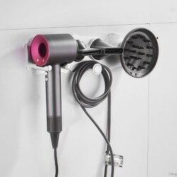 Suporte do secador de cabelo fixado na parede prateleira do banheiro rack para dyson supersônico secador de cabelo l29k
