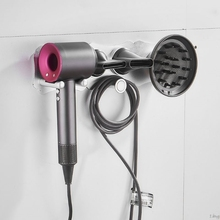 ドライヤーホルダーウォールマウントstorgaeラック浴室の棚ダイソン超音速ヘアドライヤーl29k