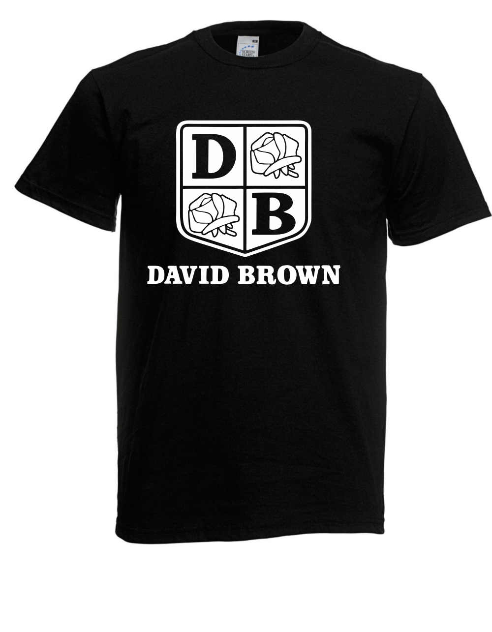 2018 Streetwear Short Sleeve Tees Herren T-Shirt David Brown I Traktor I Spruche I Fun I Lustig bis 5XL Hipster O-neck cool tops