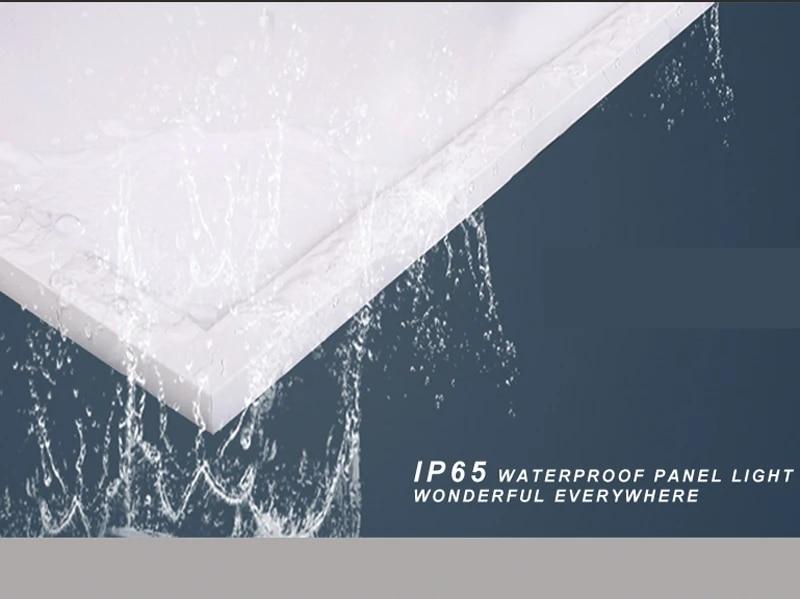 Waterbestendigheid 595x595mm Verzonken Plein 36 W 40 W Ip65 Led Paneel Plafondlamp Badkamer Outdoor Zachte Verlichting Panel Ceiling Lights Ip65 Led Panelled Panel Light Aliexpress