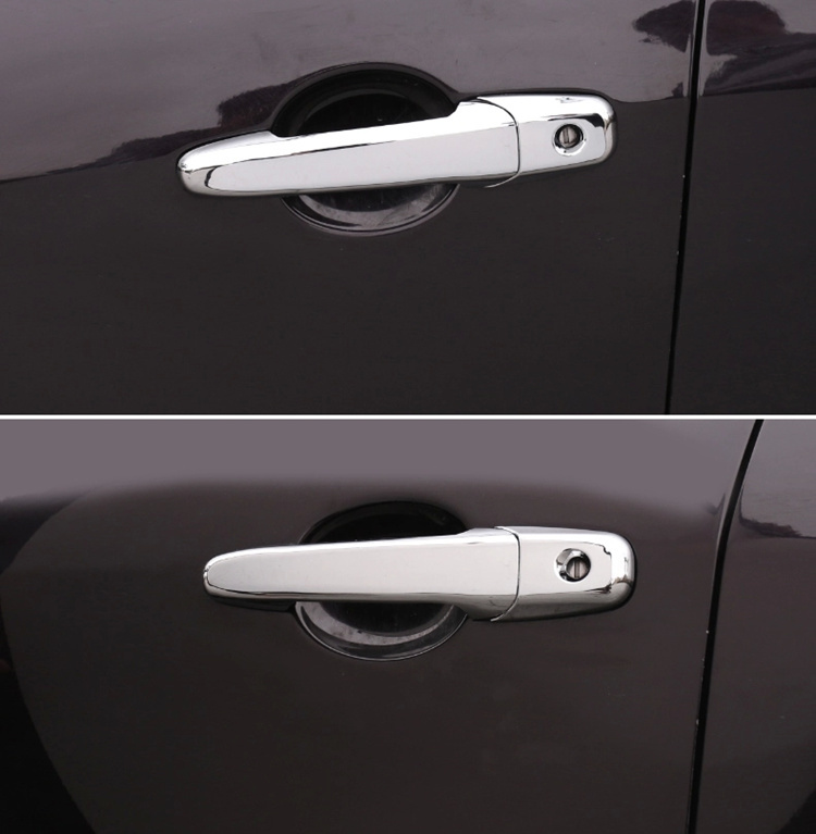 Image 5 - For Mazda 3 2004   2009  Mazda 5 2006   2017 Mazda 6  2003   2015 New Chrome Car Door Handle Cover Trim Car Styling Accessories-in Car Stickers from Automobiles & Motorcycles