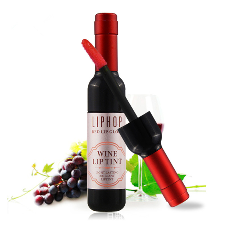 6 colors matte red lip liphop wine lip tint waterproof lip gloss long lasting matte liquid