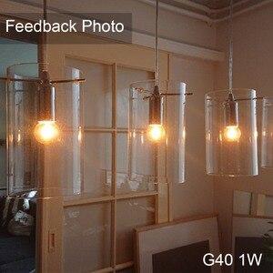 Image 4 - GANRILAND Led E14 عكس الضوء الذهب البسيطة أنبوبي الثريا ليلة مصباح 0.5 W 1 W 2 W 4 W 2200K E14 220V  240V خمر LED مصابيح شعيرة