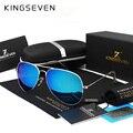 KINGSEVEN Clássico Da Moda Polarizada Óculos De Sol Dos Homens/Mulheres Colorido Reflective Coating Lens Óculos Acessórios Óculos de Sol 3026