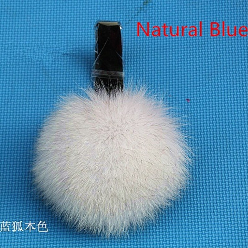 Genuine Fox Fur Fox Fur Earmuffs Ear Warm Winter Fox Fur Earmuffs Ear Package Genuine Free Shipping