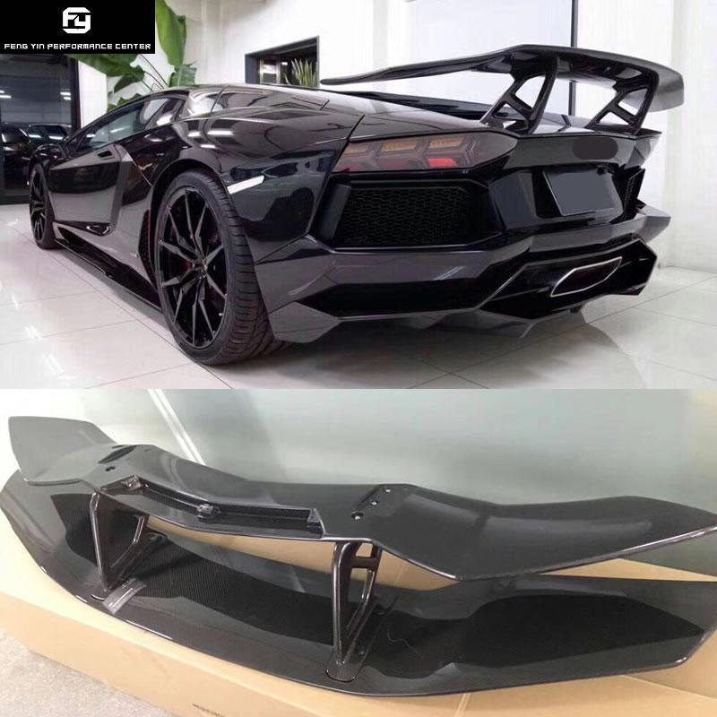 Лидер продаж LP700 углеродного волокна задний спойлер Крылья для Lamborghini Aventador LP700 DMC style 2015