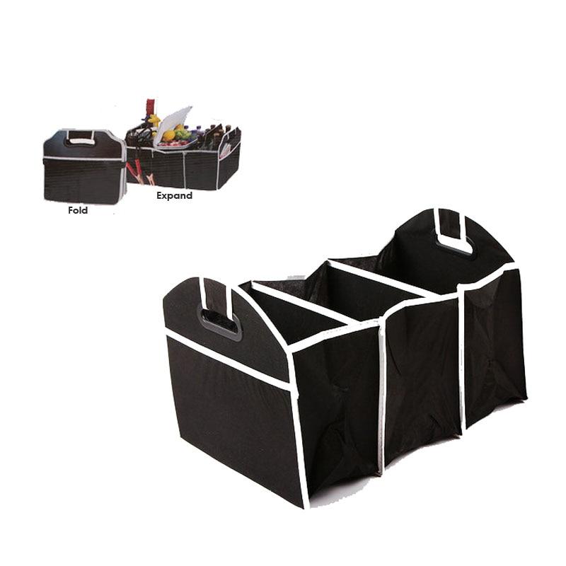 자동차 가방 주최자 접이식 트렁크 여행 완구 식품 도구 비 직물 패브릭 보관 컨테이너 가방 상자 자동차 악세사리