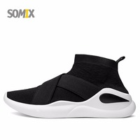 Somix Brand Running Shoes For Men 2017 Mesh Breathable Athletics Sneakers Lightweight Jogging Trainers Sock Dart