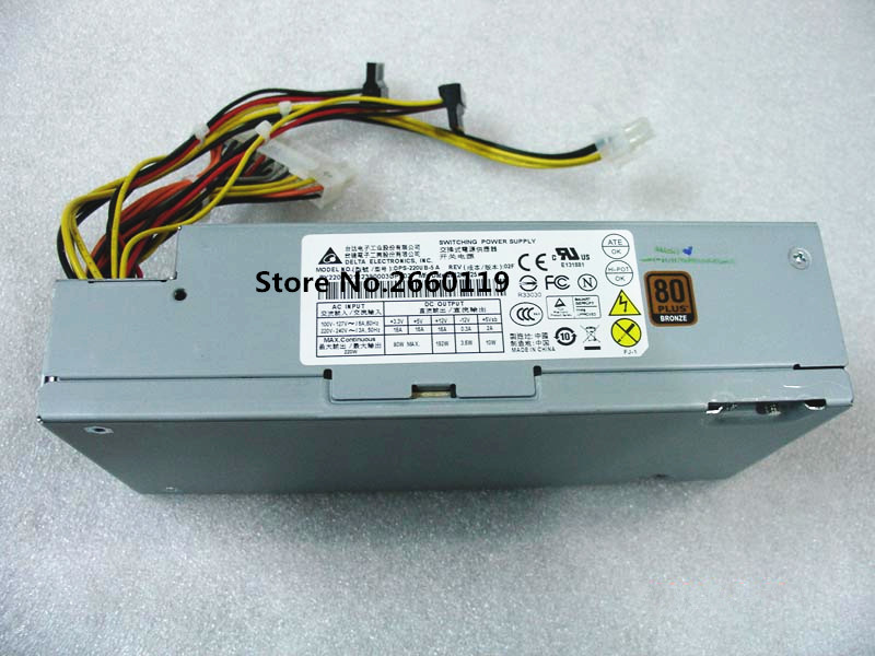 Power supply for DPS-220UB-5A 220W working well куртка утепленная alcott alcott al006emvzw18