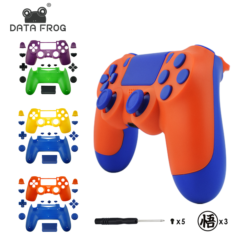 Replacement Full shell and buttons mod kit For jds 040 DualShock 4 PlayStation 4 PS4 Pro Slim Anime theme Housing Cover Case стоимость