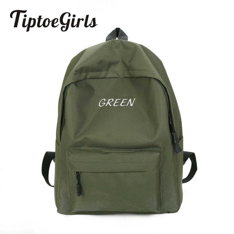 Spersonalizowany haft damski plecak nowy mody wysokiej jakości torba studencka dorywczo dziki plecak podróżny o dużej pojemności