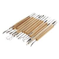 Profesyonel için 22 ADET Paslanmaz Çelik Sanat Araçları Kiti Set Çömlek/Heykel/Seramik/Polimer Kil Oyma Modelleme-30