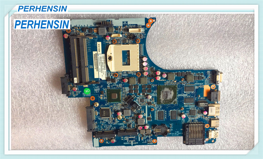 FOR Hasee FOR Raytheon FOR CLEVO w670dj Laptop Motherboard 6-71-W65J0-D02 DDR3100% WORK PERFECTLY