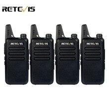 4 шт. Handy Walkie Talkie Retevis RT22 2 Вт КАНАЛОВ UHF 400-480 МГц CTCSS/DCS VOX Сканирование Радиолюбителей Кв Трансивер Портативный 2 Ходовые Радио RU