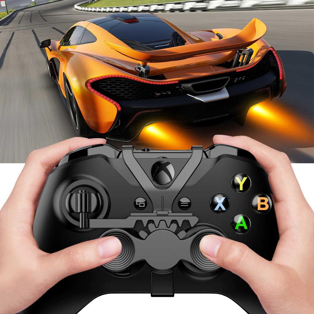 Myriann Mini kierownica assist uchwyt do konsoli Xbox One, dodać i staje w sytuacji sam na sam akcesoria zamienne dla wszystkich Xbox gra wyścigowa