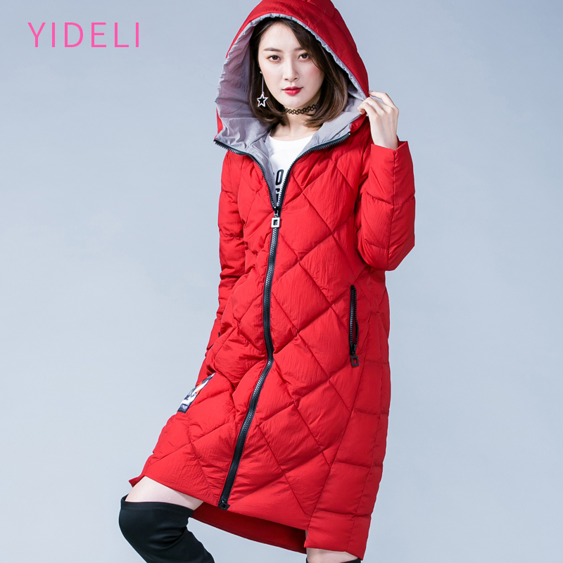 Women Winter long Thick Coat Jacket Warm Woman Parkas Female Overcoat High Quality 2017 New Hooded Collection Plus Size 4XL 5XL women winter coat jacket warm woman parkas big fur collar female overcoat high quality thick cotton coat 2017 new winter parka