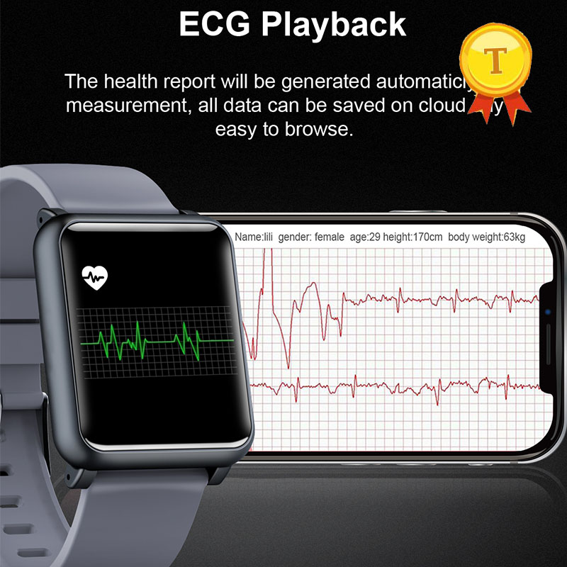 2019 blood pressure sleeping quality wristband heart rate detection PPG ECG smart bracelet Activity fitness tracker