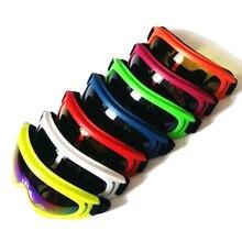 EKIND Windproof Skiing Glasses GogglesRetro Harley Tactical Mask Goggle For Nerf N-strike Elite Toy Gun Game Rival Ball