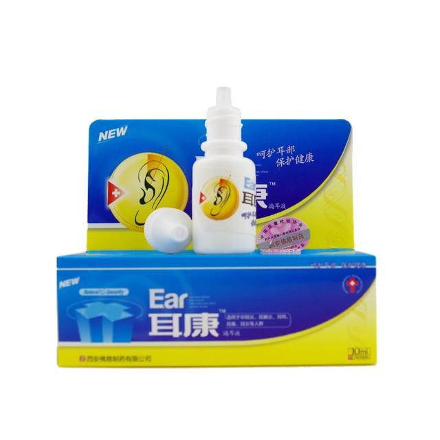 10 мл Китайский травяной ушные капли отит, шум в ушах, ухо зуд, earditis инфекции уха здоровья уход
