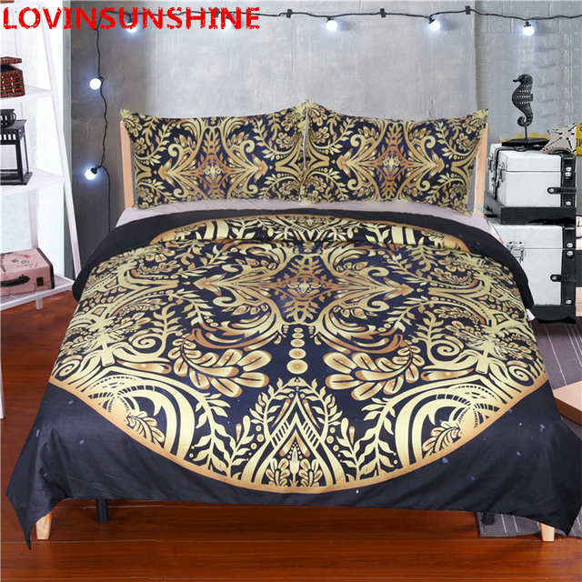 Russia Top Sale 3pcs Bedding Sets Luxury Quilt Cover  Pillow Shams Duvet Cover Sets Twin Full Queen King Size